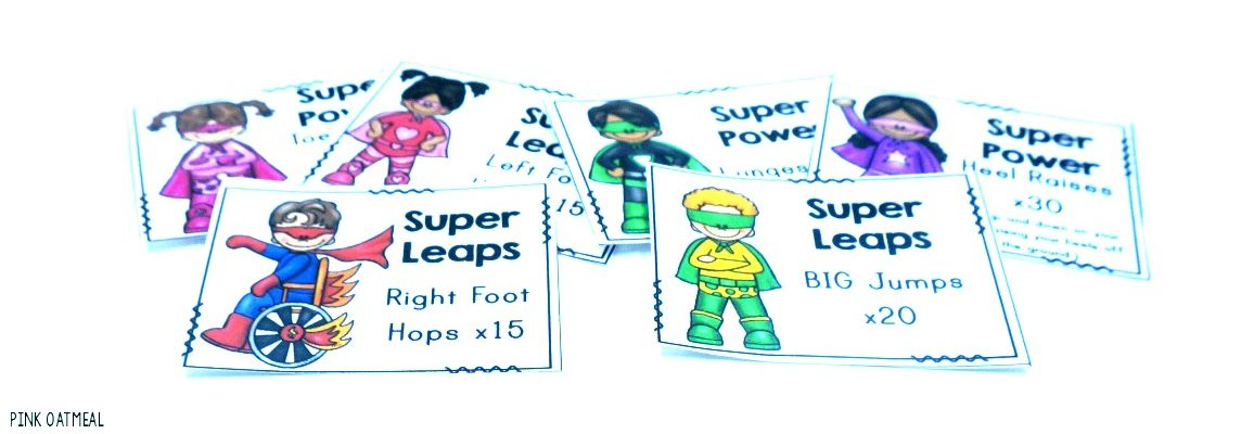Superhero Gross Motor Moves