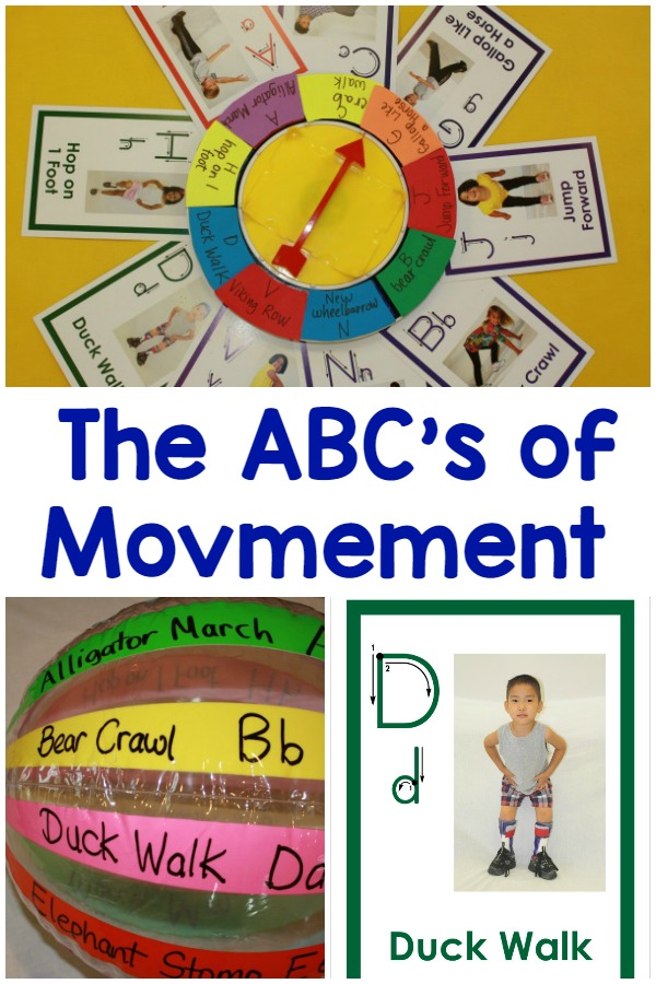 Move With Me and Learn The ABC's