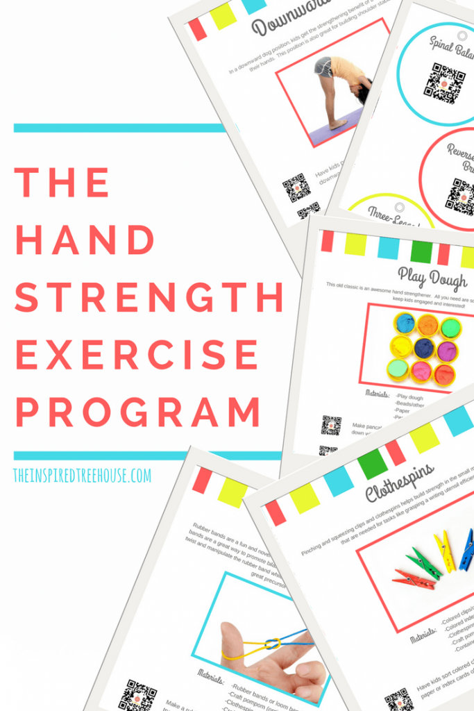 E-books for pediatric therapist - The Hand Strengthening Ebook
