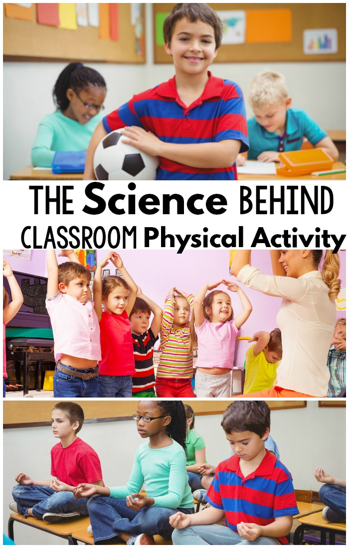 Tons of research articles about the need for classroom physical activity.  This includes brain breaks, cognition, classroom yoga and more!  #brainbreaks #education #research