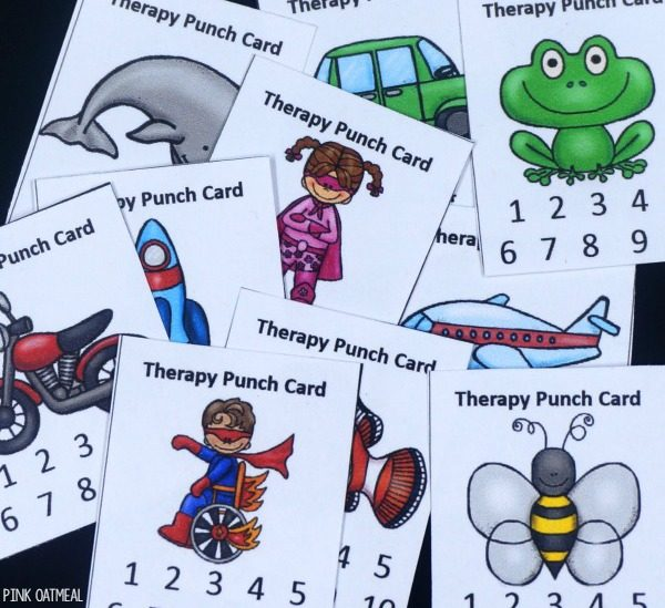 Therapy Punch Cards Pinterest
