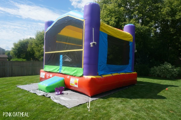Transportation Party Bounce House