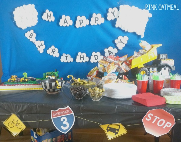 Transportation Party Table
