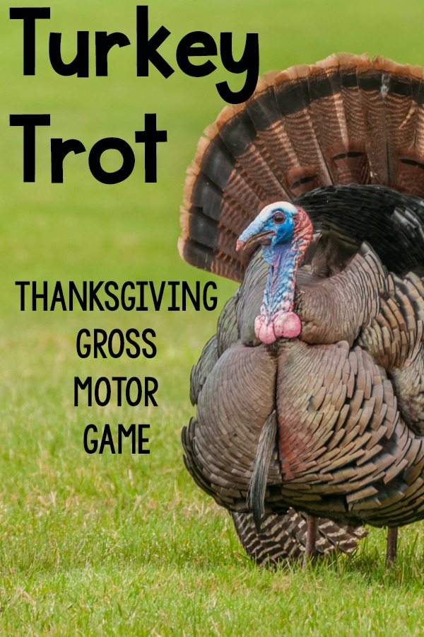 Turkey Trot Thanksgiving Gross Motor Game
