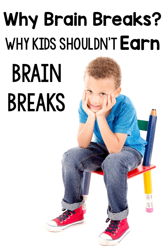 Why We Need Brain Breaks and Why They Shouldn't Be Earned