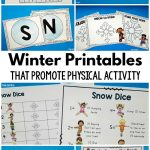 Winter Printables – That Promote Physical Activity