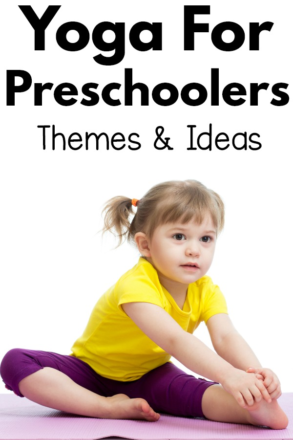 Yoga for preschoolers - tips and ideas to make yoga fun. A huge list of themes for preschool yoga for every holiday, season and theme you could want!